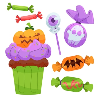 Halloween candy pack design