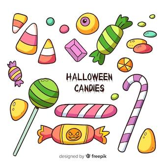 Halloween candy set