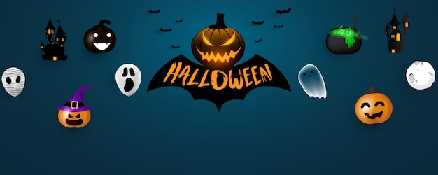 Halloween carnival background