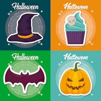 Halloween celebration set