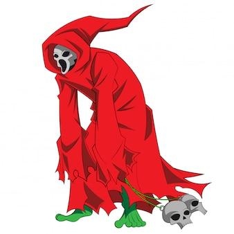 Костюм персонажа хэллоуина