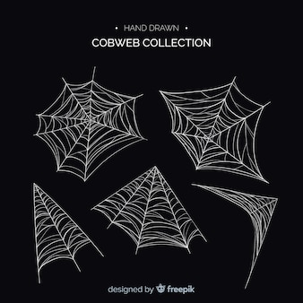 Halloween cobweb collectio