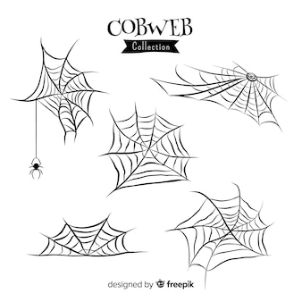 Halloween cobweb collection