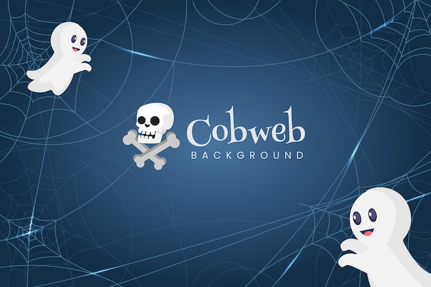 Halloween cobweb wallpaper