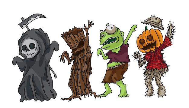 Halloween collection design