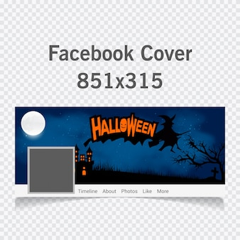 Halloween cover for social networks