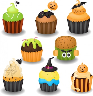 Хэллоуинский кекс