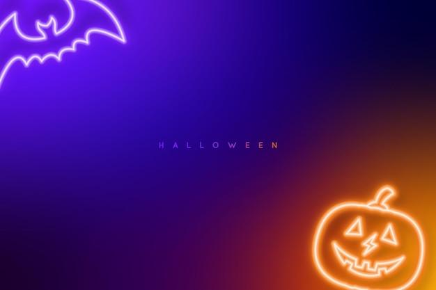 ハロウィーンの暗い背景