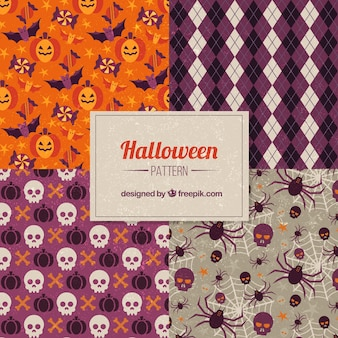 Halloween decoration patterns
