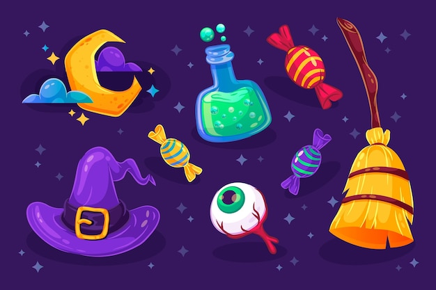 Halloween element pack