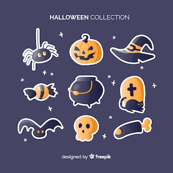 Halloween elements pack