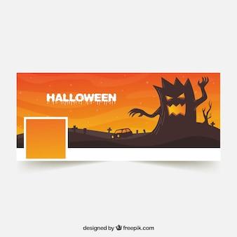 Halloween facebook orange cover