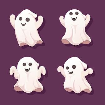 Коллекция призраков на хэллоуин