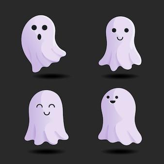 Набор призраков фестиваля хэллоуина
