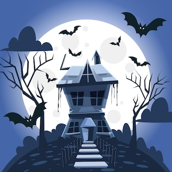 Halloween festival house design