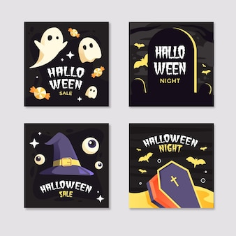 Raccolta di post instagram festival di halloween