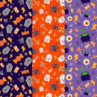 Halloween festival pattern concept