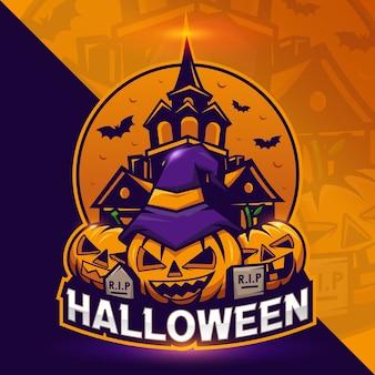 Хэллоуин фестиваль тыквы концептуальный дизайн