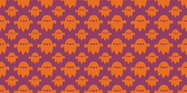할로윈 축제 유령 원활한 패턴입니다.