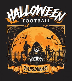 Halloween football tournament annual event