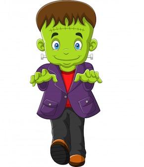 Halloween frankenstein character