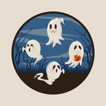 Halloween funny and scary cartoons