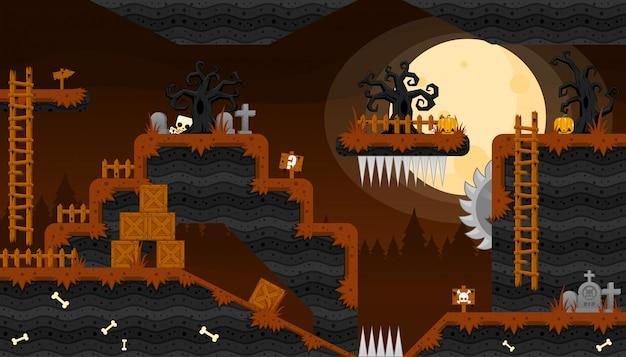 Halloween game tileset
