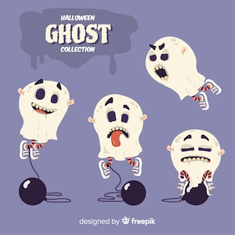 Halloween ghost collection