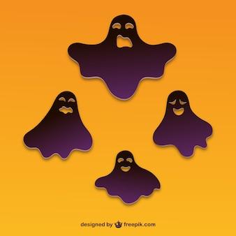 Хэллоуин духа наклейки