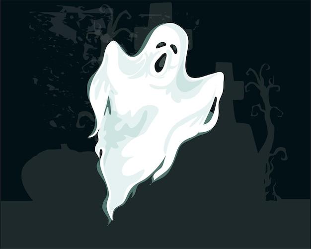 ハロウィーンの幽霊