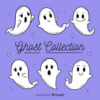 Хэллоуинская коллекция привидений