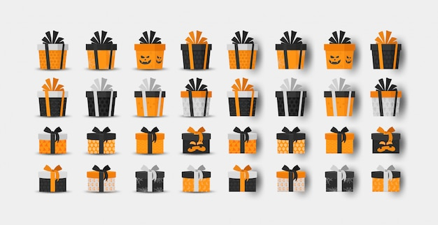 Halloween gift box collection