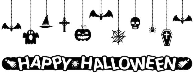 Подвесные украшения на хэллоуин