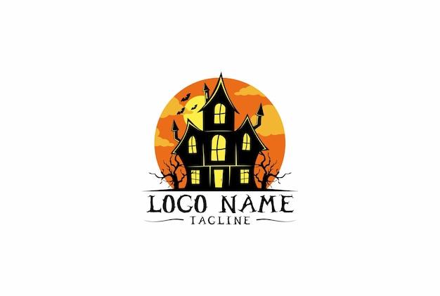 Halloween house logo