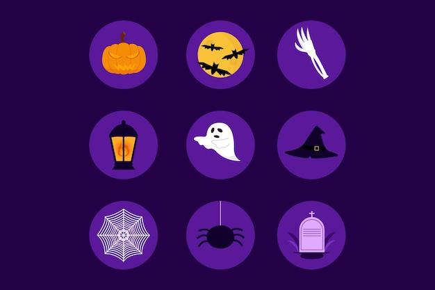 Halloween instagram highlight