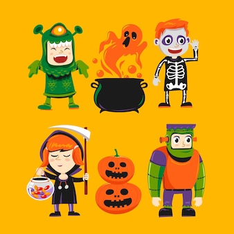 Halloween kid collection