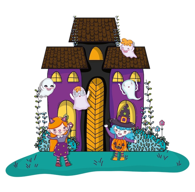 Halloween and kids cartoons