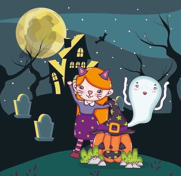 Halloween kids cartoons