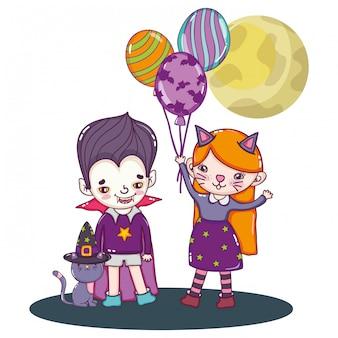 할로윈과 어린이 만화