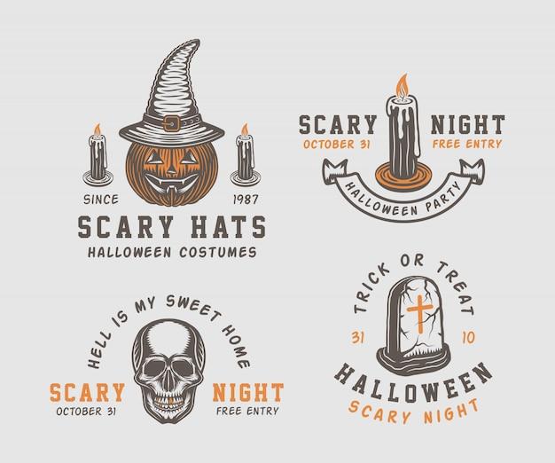 Логотип хэллоуин