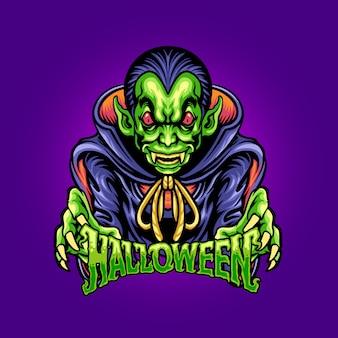 Halloween monster character