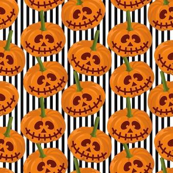 Halloween mummy cute and creepy seamless pattern