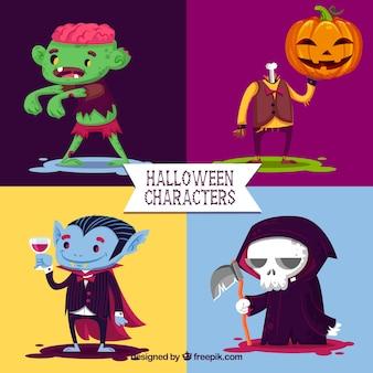 Halloween of nice characters