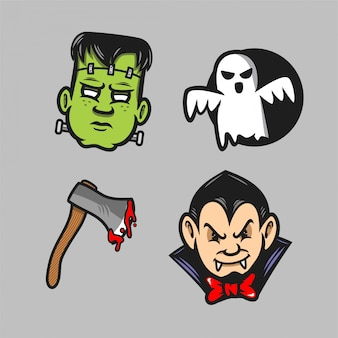 Halloween pack sticker