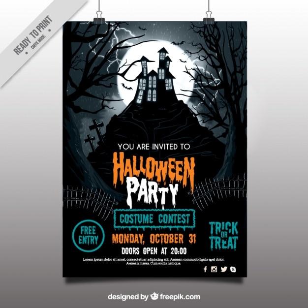 free halloween flyer