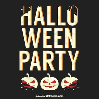 할로윈 파티 포스터