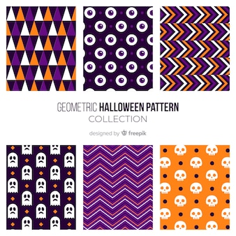 Halloween pattern background design