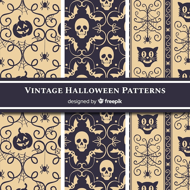 Free Halloween Pattern Collection With Vintage Style Svg Dxf Eps Png Free Valentine S Day Svg Files For Your Cricut Or Silhouette