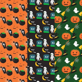 Halloween pattern pack theme