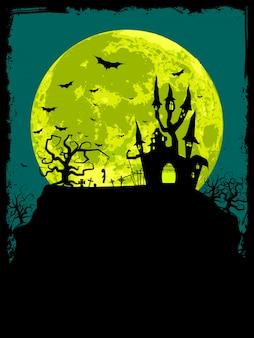 ハロウィンのポスター。